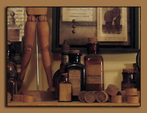 Pharmacy Bottles 4