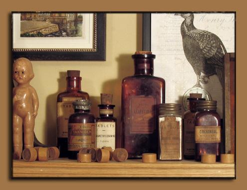 Pharmacy Bottles 1