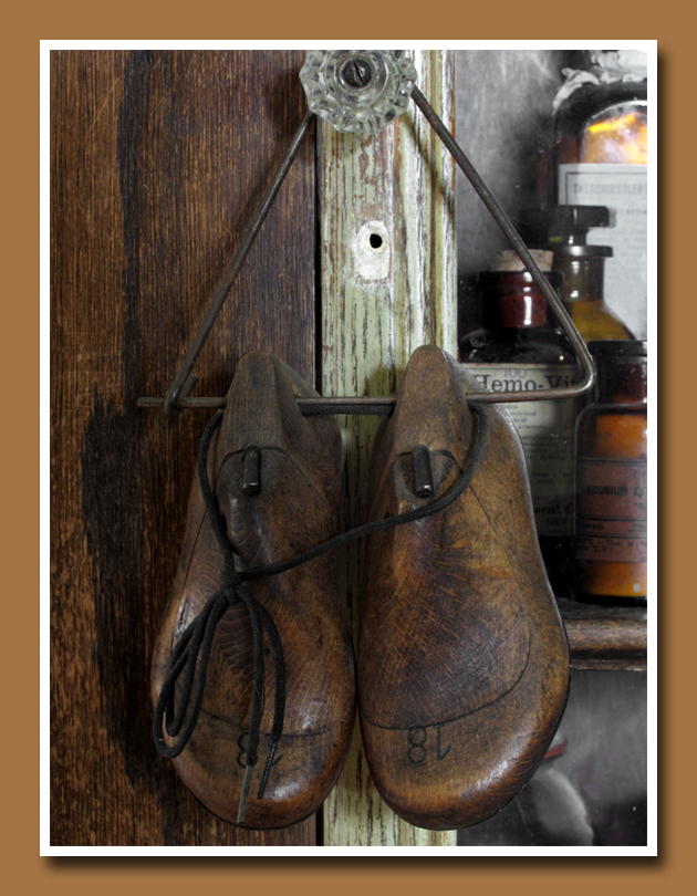 Wooden Shoe Lasts 1