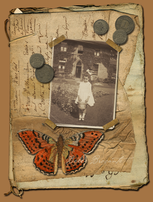 Collage Papillon