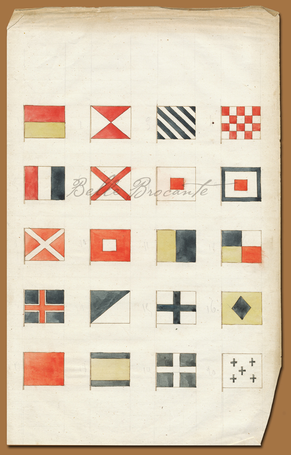 Marine Flags 1