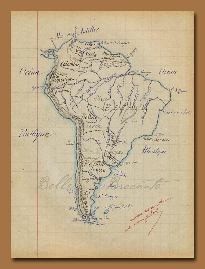 Carte 1897 D