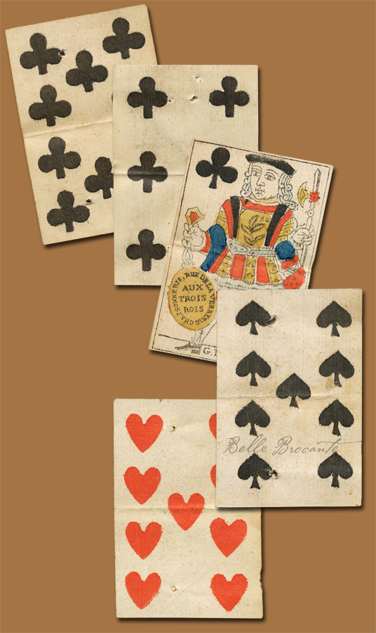 Playing Cards 1700s A