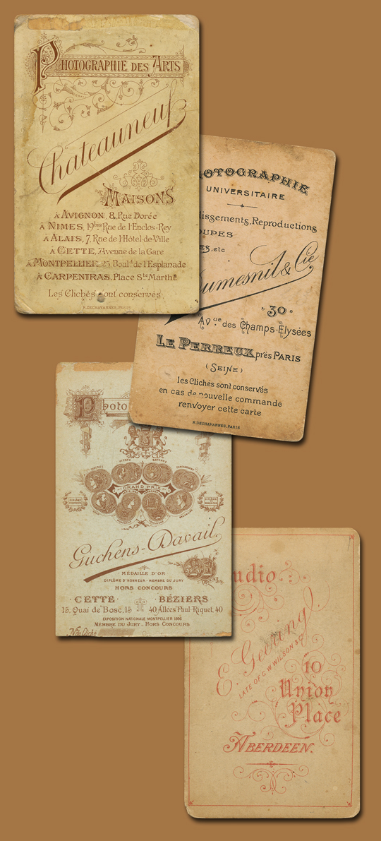 Cabinet Cards 1