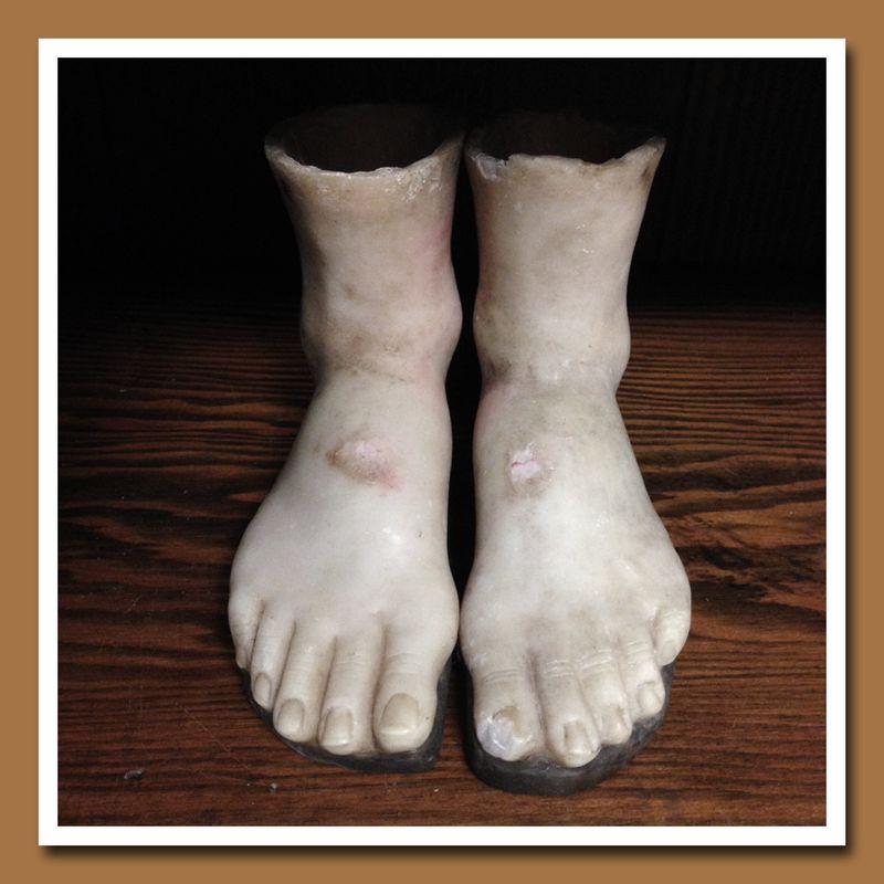 Wax Santos Feet